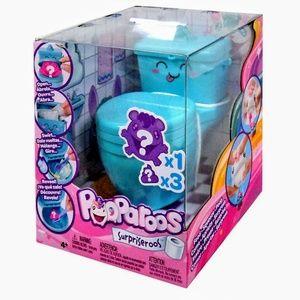 Pooparoos Surpriseroos Figure with Toilet, Blue